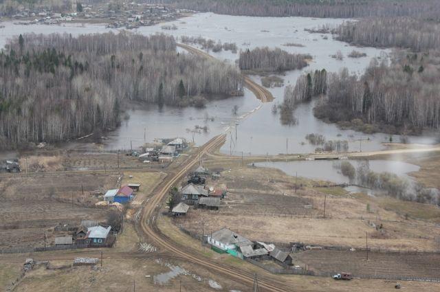 Подтопленными остаются дачи в Ленинском районе Омска.