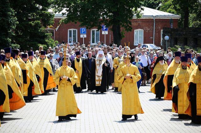 ВСтаврополь привезли ковчег сосвятынями