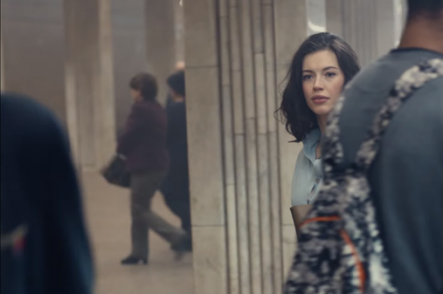 Вкиевском метро сняли один из фрагментов нового ролика Lacoste
