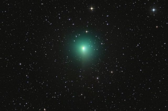 Москвичи смогут увидеть комету Джонсона 4июня