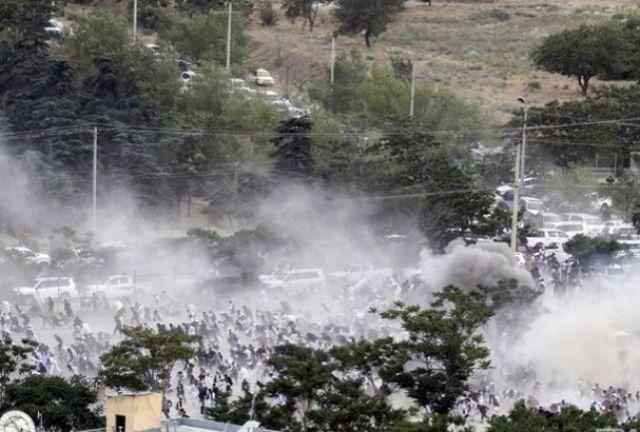 В Кабуле хоронили жертв вчерашнего противостояния с полицией