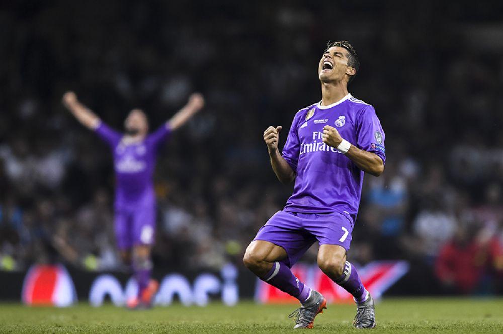 Игрок ФК «Реал Мадрид» Криштиану Роналду.