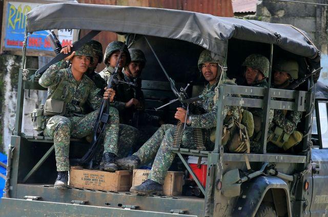 Власти Филиппин подтверждают разрушение боевика изРФ наюге страны