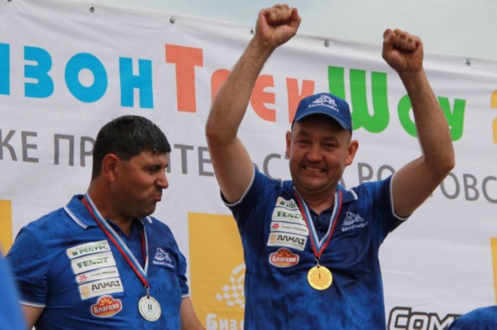Юрий Архипцев - победитель гонок «Бизон-Трек-Шоу-2017».