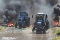 Под Ростовом-на-Дону состоялись 15-е гонки на тракторах «Бизон-Трек-Шоу 2017»