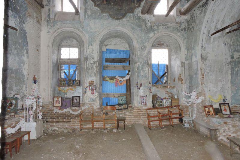 Церковь изнутри.