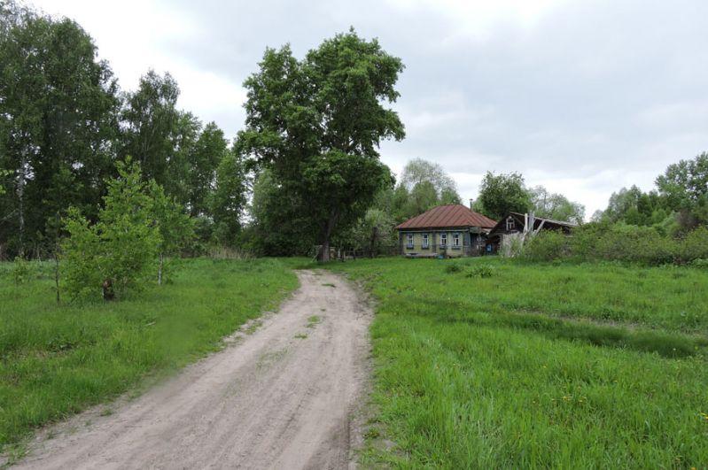 Въезд в Утёсовку.