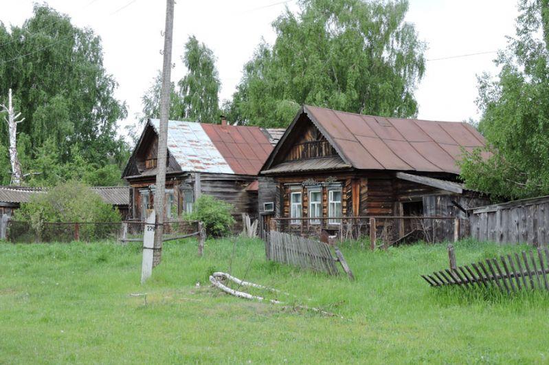 Заброшенные дома.