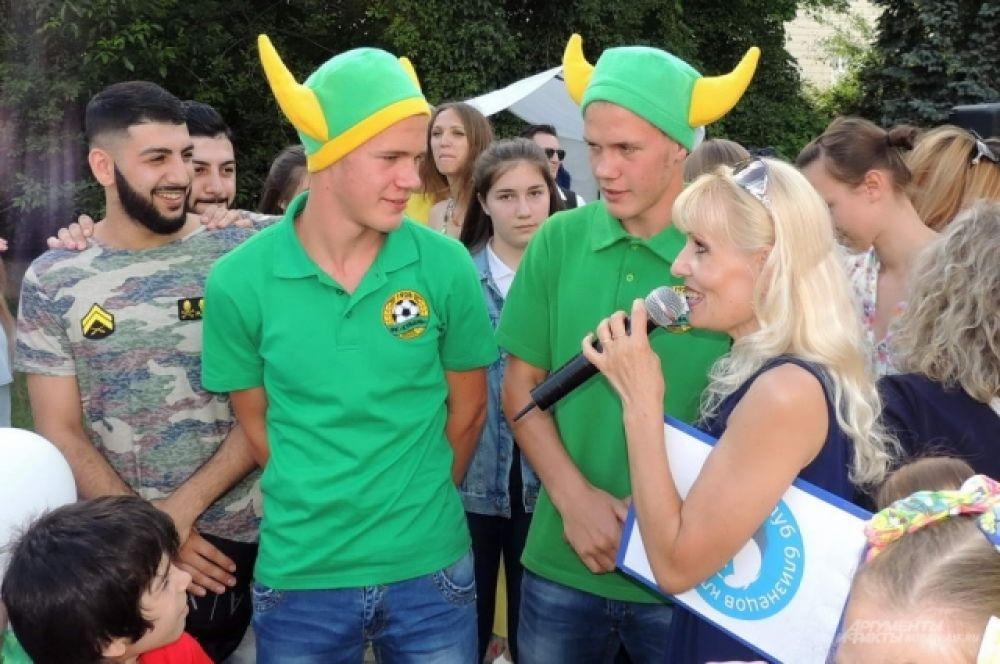 А эти братья - болельщики футбольной «Кубани».