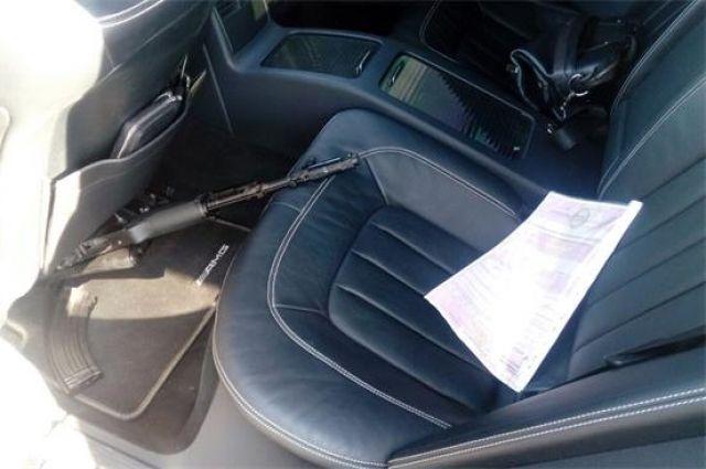 В автомобиле сотрудники Росгвардии обнаружили автомат с холостыми патронами.