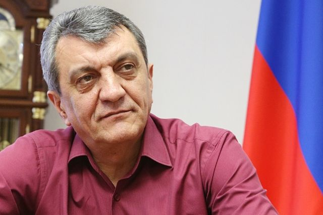 Полномочный представитель Президента России в СФО Сергей Меняйло