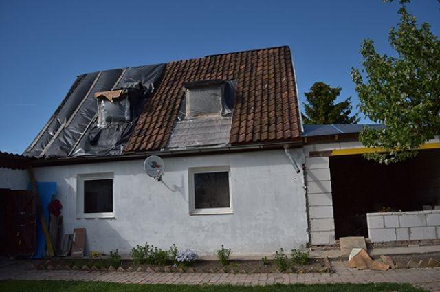 Власти региона помогут многодетной семье восстановить сгоревший дом.