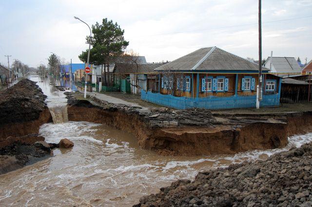 Паводок-2017: в Викуловском районе остаются подтоплены 34 жилых дома