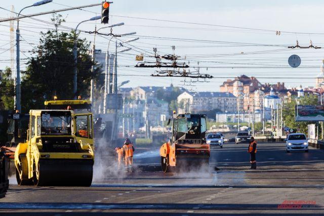 В Оренбурге улица Карагандинская перекрыта из-за ремонтных работ
