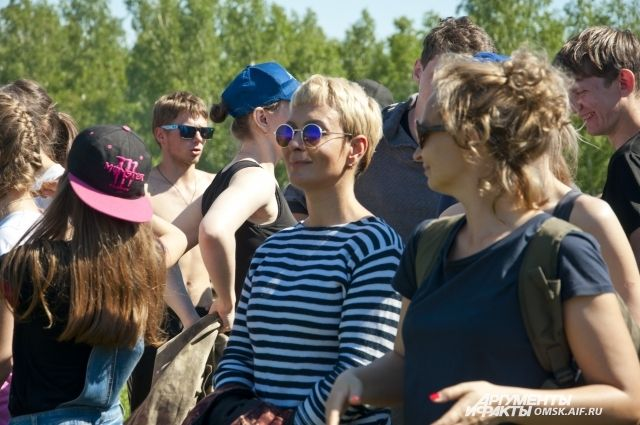 Омичи отправились на выходные в Горьковский район на «ТурМикс».