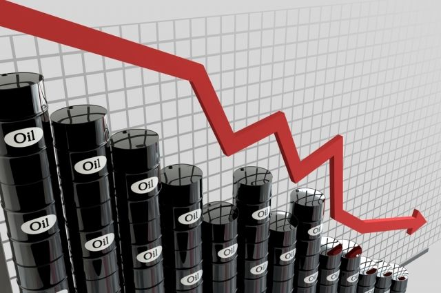Нефть упала вцене доминимума запоследние три недели