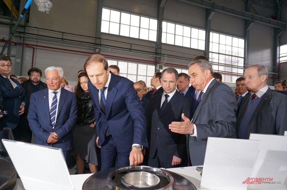 На выставке побывали министр промышленности и торговли России Денис Мантуров и полномочный представитель Президента России в ПФО Михаил Бабич.