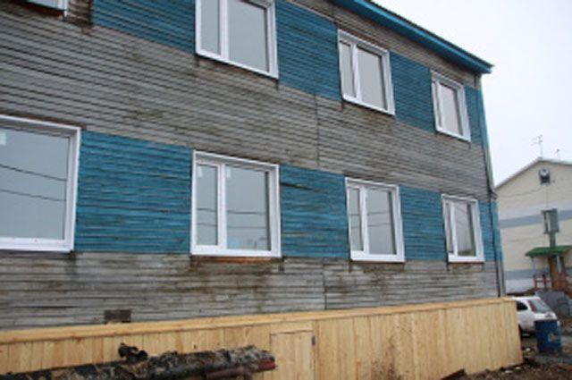 В Салехарде восстановлен дом, поврежденный пожаром.