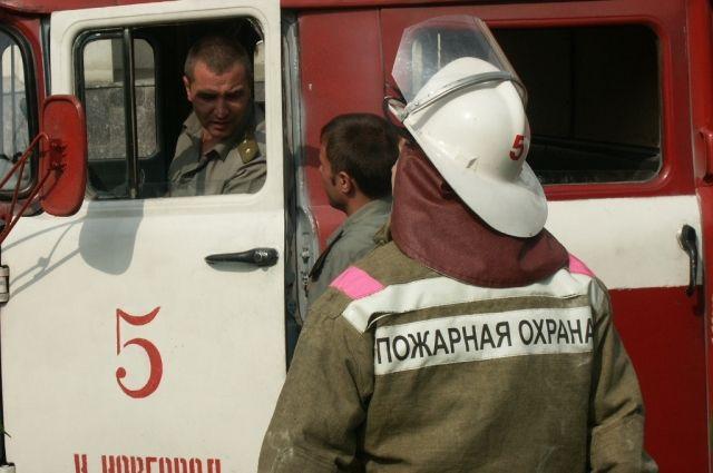 ВНижнем Новгороде мужчина умер впожаре вквартире