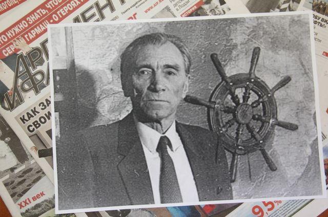 Конецкий писал свои романы, будучи настоящим морским волком, капитаном!