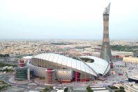 Стадион Халифа в Дохе.