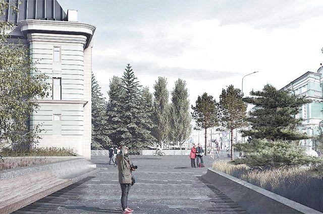 После благоустройства Волхонка станет центральной улицей музейного квартала, который объединит в одно культурное пространство ещё и Пречистенку, и площадь перед храмом Христа Спасителя.