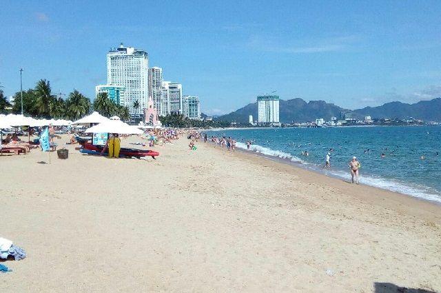 Пляж готов принимать посетителей.