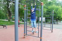 О таких спортивных тренажерах мечтают новосибирские дети