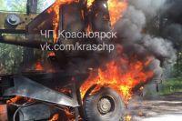 Причина возгорания и сумма ущерба выяснится после проверки.