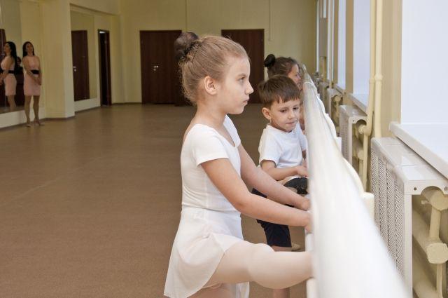 Новые залы для занятий уже вовсю используются танцорами.