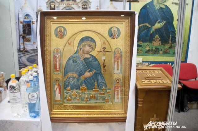 Поломники и участники выставки смогут поклониться редким иконам.