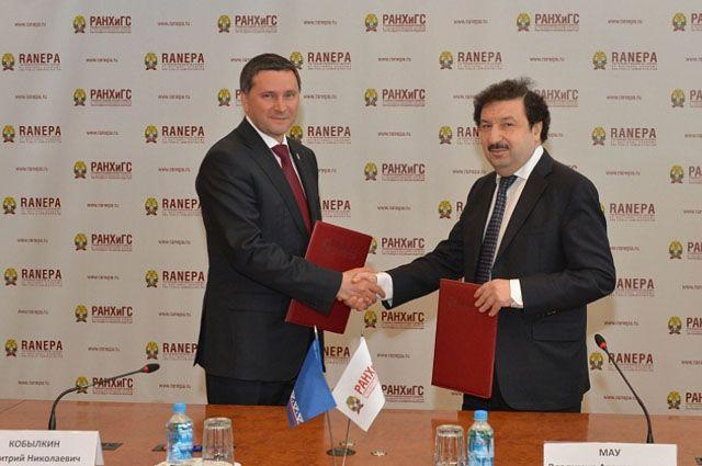 Глава Ямала и ректор Президентской академии договорились о сотрудничестве.