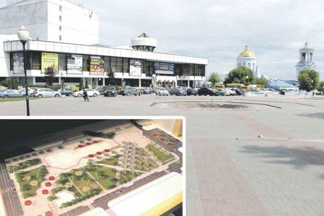 Архитекторы обещают сохранить исторически сложившийся стиль уютной Советской площади, к тому же после реконструкции она станет более зелёной.