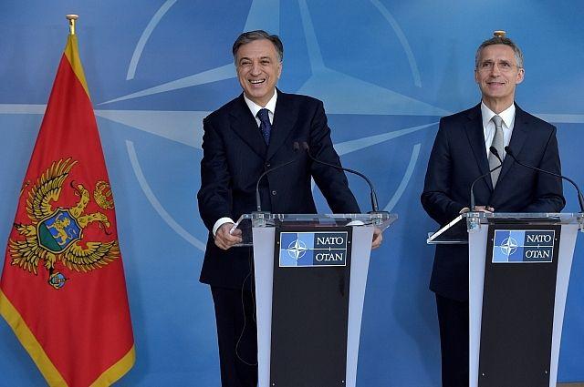 Украина собирается вступить вНАТО попримеру Черногории