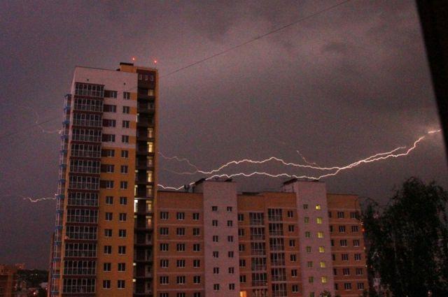 Грозы исильный ветер ожидаются сегодня вНижегородской области