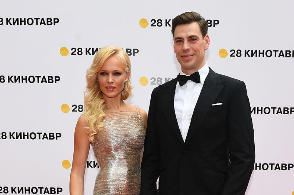 Актёр Дмитрий Дюжев и его супруга Татьяна.