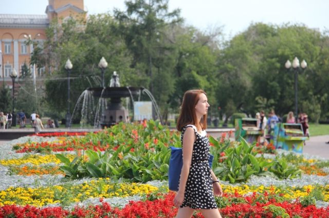 8 июня в Иркутске будет очень теплый.
