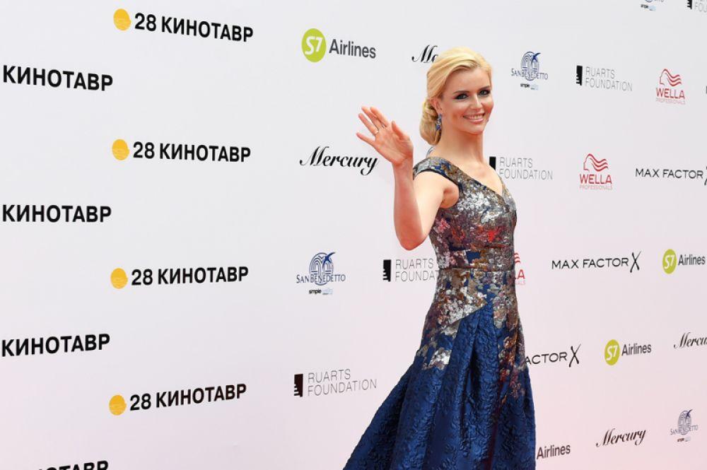 Актриса Анна Чурина.