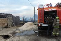 В окрестностях Вихоревки сгорело около 300 дач.