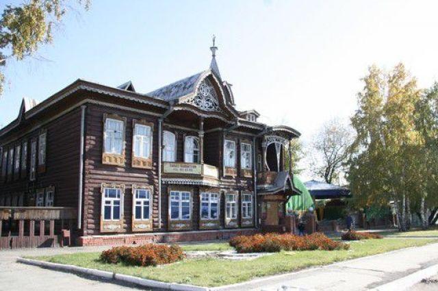 Дом купца Шадрина.