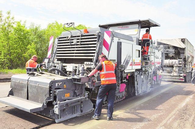 Начался ремонт федеральных автомобильных дорог вграницах Красноярской агломерации