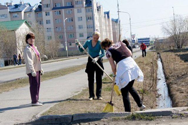 В Салехарде стартует акция «Чистый город».