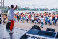 Звезда танцев из Москвы Владимир Алешин провел мастер-классы на двух площадках.