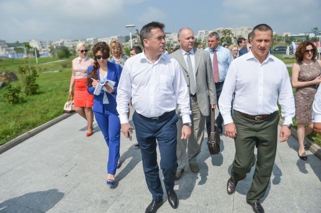 Юрий Трутнев похвалил Приамурье заработу поулучшению инвестклимата