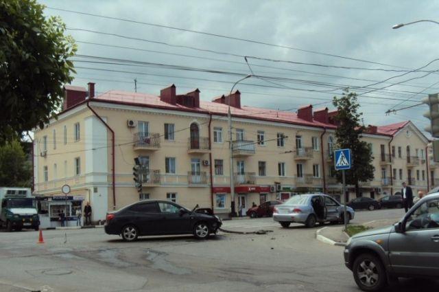 Фото с места ДТП