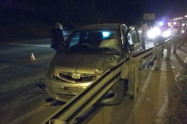 ВДТП наобъездной дороге Иркутска пострадал 4-летний ребенок