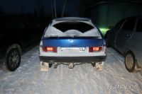 """Хозяину этого автомобиля повезло - его нашли довольно быстро. Подростки """"взяли покататься""""."""