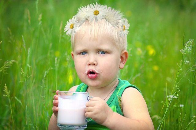Наличие врационе детей коровьего молока напрямую связано сихростом