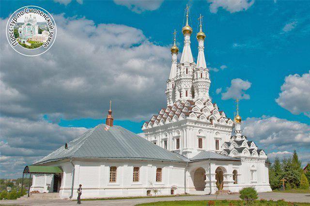 Церковь Одигитрии Смоленской в Вязьме  включена в Список Всемирного наследия ЮНЕСКО.