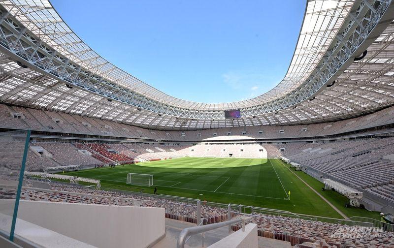 Стадион «Лужники» после реконструкции.